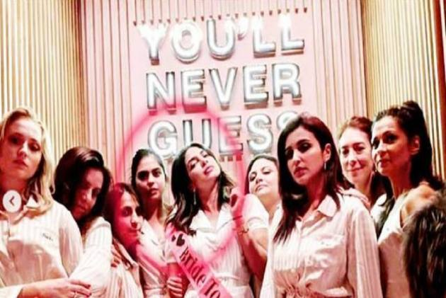 Priyanka Chopra And Parineeti Chopra Are Back To Mumbai After A Final Bachelorette Pyjama Party