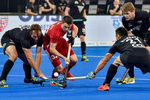 Hockey World Cup, Crossover 1: England Beat New Zealand 2-0, Meet Argentina In Quarters