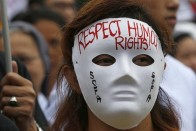 International Human Rights Day: Hundreds Gather At Parliament Street In Delhi To Celebrate Resistance
