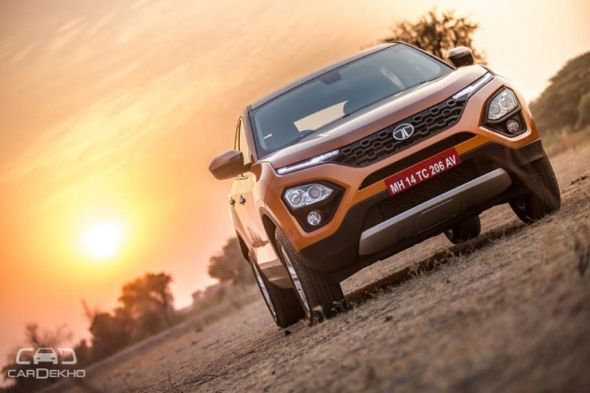 Tata Harrier Automatic Expected Around Mid-2019