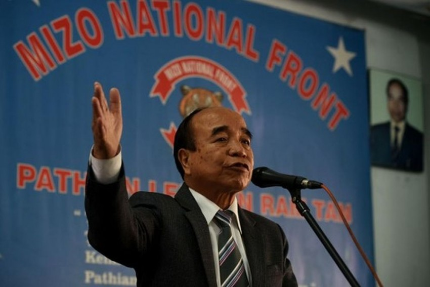 MNF Chief Zoramthanga Back With A Bang For The Third Time In Mizoram