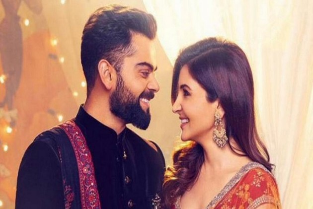 Virat Kohli Wedding.Virat Kohli And Anushka Sharma Celebrate Their First Wedding