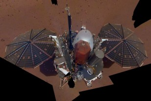 NASA's InSight Clicks First 'Out Of The World' Selfie On Mars