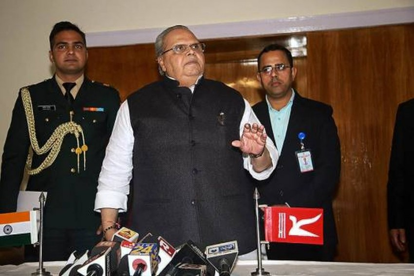 Rich And Powerful In Kashmir Live Better Life Than Emperor Jahangir: Governor Satya Pal Malik