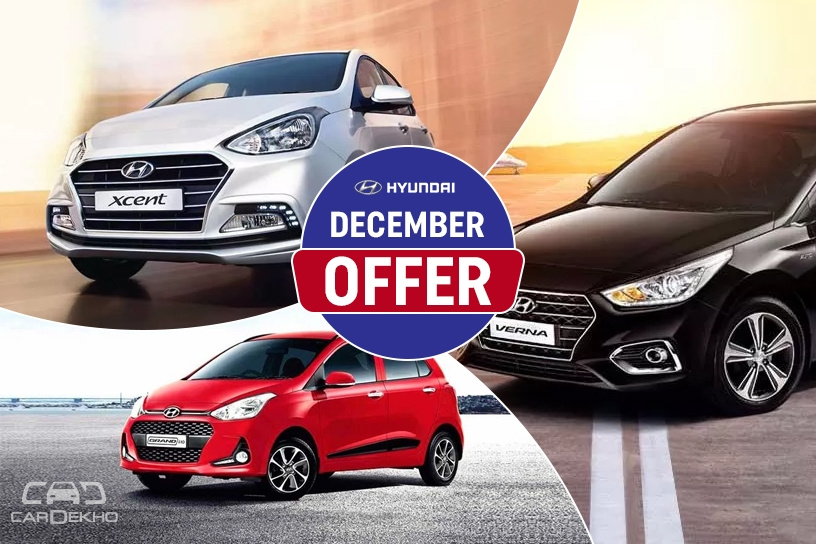 Hyundai December Offers: Cash Discounts, Free Insurance, Exchange Bonus On Grand i10, Verna & More