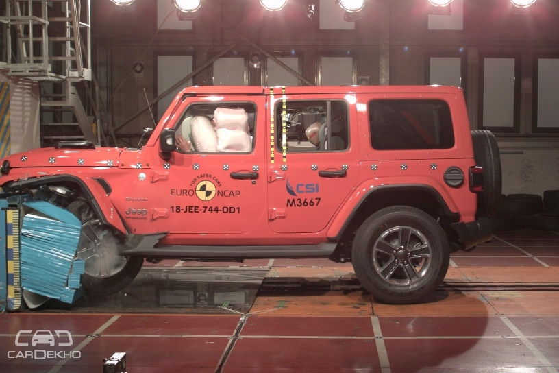 India-bound 2018 Jeep Wrangler Scores 1 Star In Euro NCAP Crash Tests