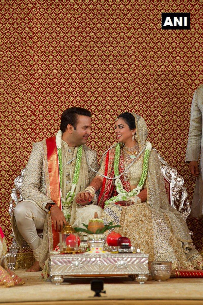 Isha Ambani And Anand Piramal Wedding Dazzles Mumbai