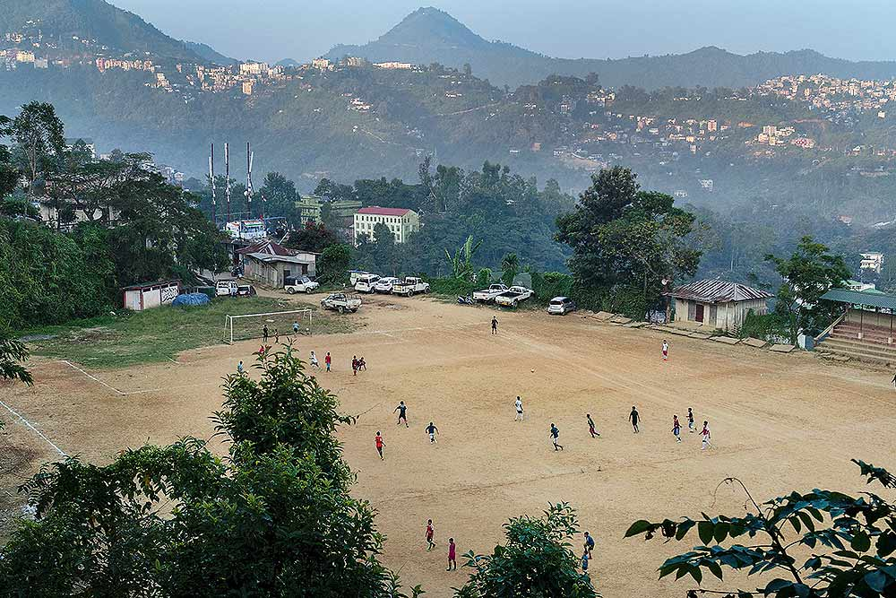 Photo Essay | Let's Football In Mizoram