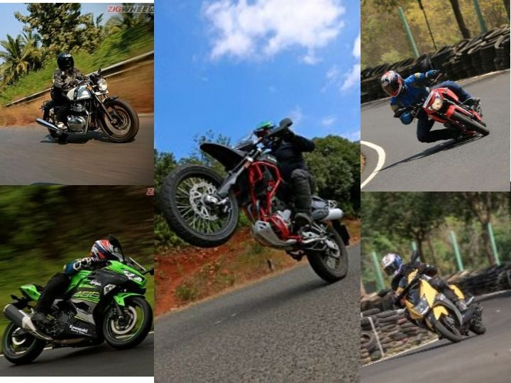 Most Fun-To-Ride Motorcycles Of 2018 TVS Apache RTR 160 Royal Enfield Continental GT 650 And More