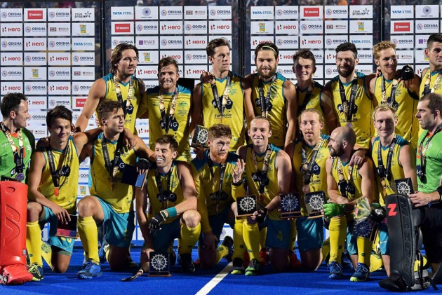 Hockey World Cup: Australia Humble England 8-1 In Bronze Medal Play-Off