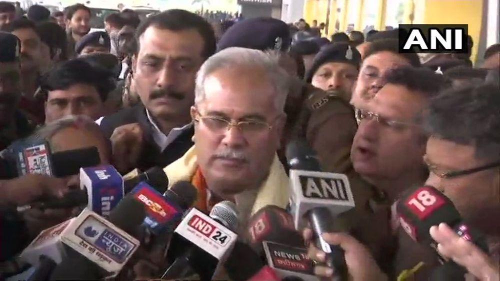 Congress' Bhupesh Baghel New CM Of Chhattisgarh, To Take Oath Tomorrow