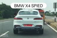 BMW X4 Spotted Testing In India