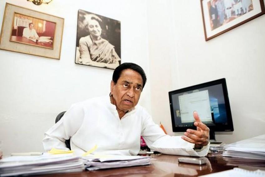 Kamal Nath Takes Oath As Madhya Pradesh Chief Minister