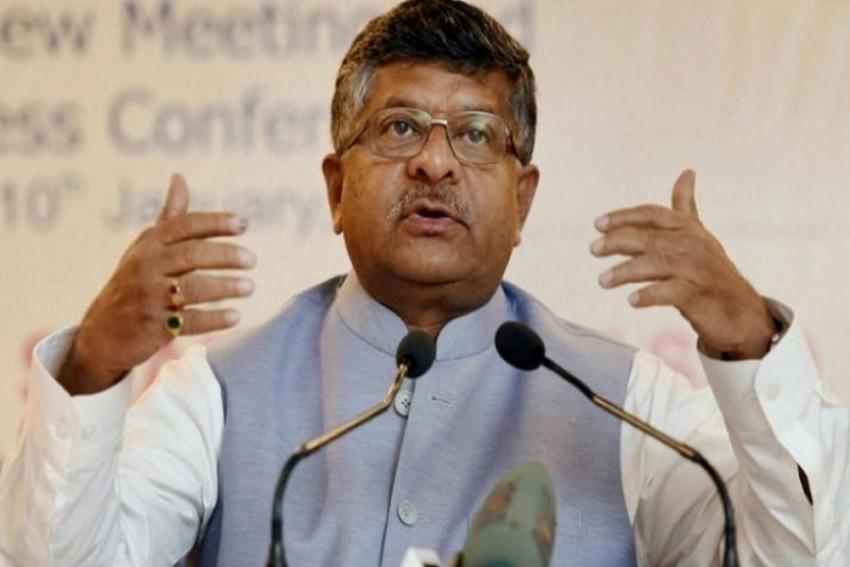 'Rahul's Sleep Remark Against PM New Low In Public Discourse': Ravi Shankar Prasad