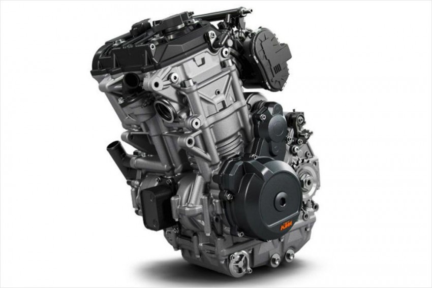 Incoming: KTM 500cc Twin-cylinder Motorcycle