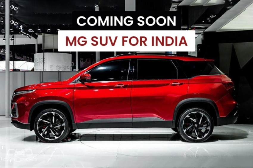 MG's Jeep Compass, Tata Harrier Rival To Be Revealed In April 2019