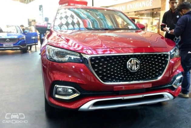 Mg 3 Rx5 Zs Hs Cars Suvs Showcased In India