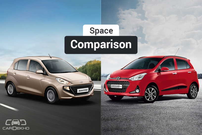 Hyundai Santro vs Grand i10: Which Hatchback Offers More Space?