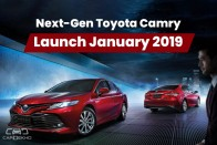 New Toyota Camry India Launch In Mid-January 2019