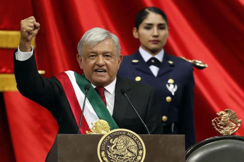 Manuel Lopez Obrador Sworn In As President Of Mexico