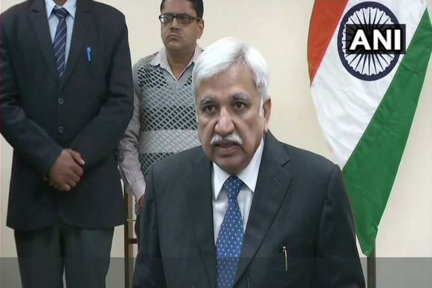 Sunil Arora, Under Whom Lok Sabha Polls Will Be Held, Takes Charge As Chief Election Commissioner
