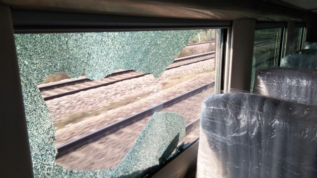 On Trial Run, India's Fastest Train Pelted With Stones