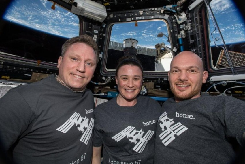 NASA Astronauts Return To Earth From ISS After 6 Months