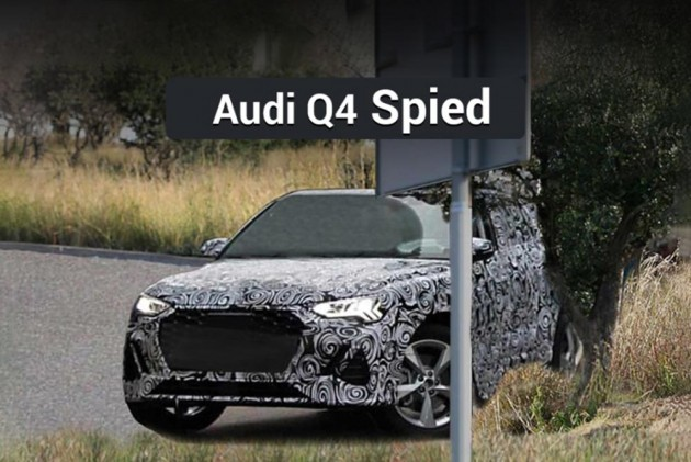 Audi Q4 Spied; Will Debut In 2019