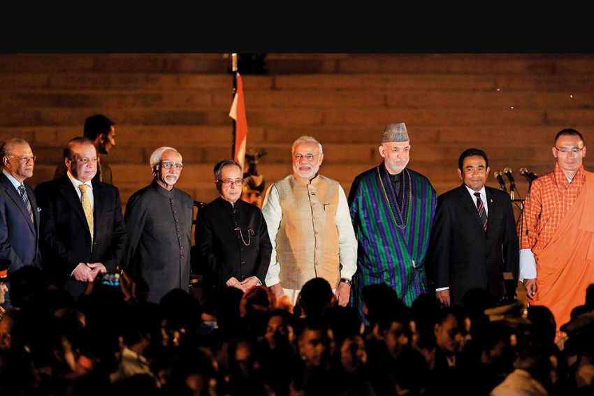 On Modi's Watch, India Has Evolved A Softer Touch With Its Neighbours