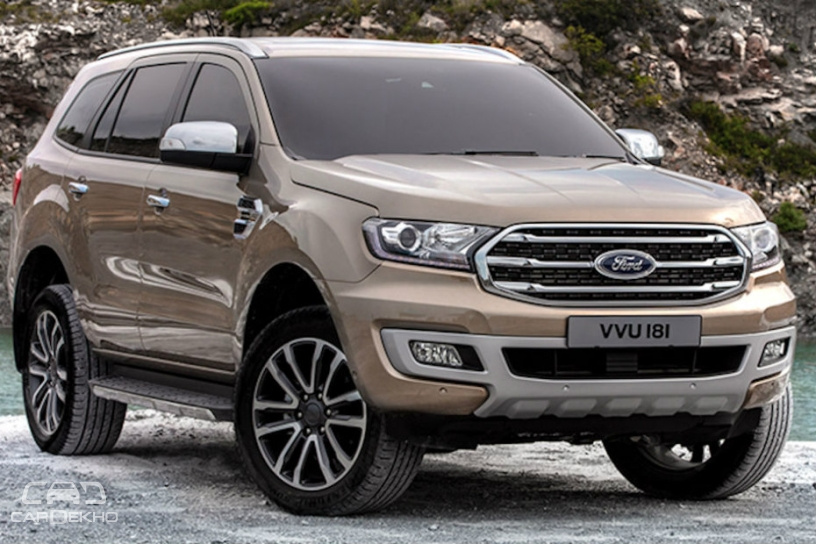 Ford Endeavour Facelift To Launch Before April 2019