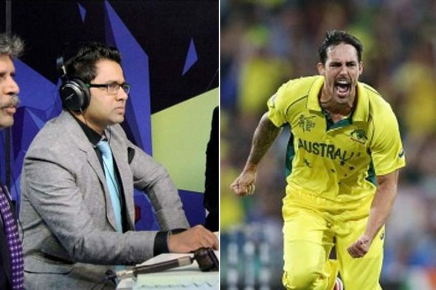 India's Tour Of Australia: Aakash Chopra, Mitchell Johnson in Twitter War Over Perth Pitch