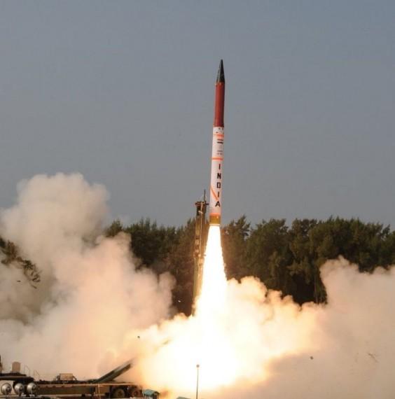 N-Capable Agni-IV Successfully Test Fired Off Odisha Coast