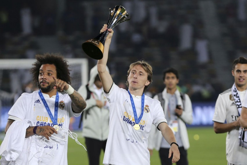 Ballon d'Or Winner Luka Modric Sparkles In Club World Cup Final