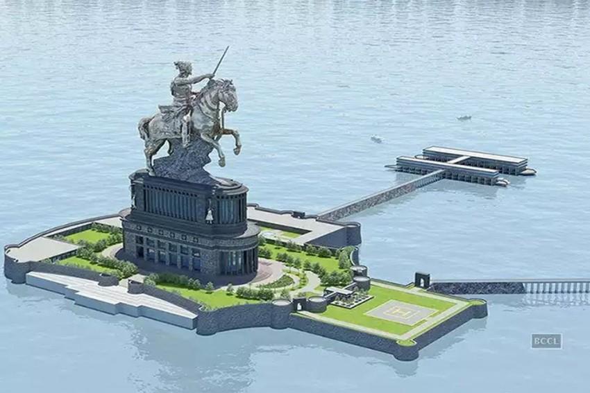 Chhatrapati Shivaji Statue In Sea To Cost Maharashtra Exchequer Rs 3643.78 Crore