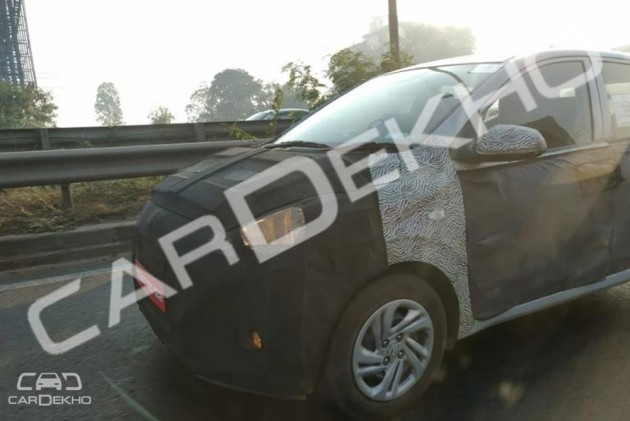 New 2019 Hyundai Grand I10 Spy Shots Reveal More Details