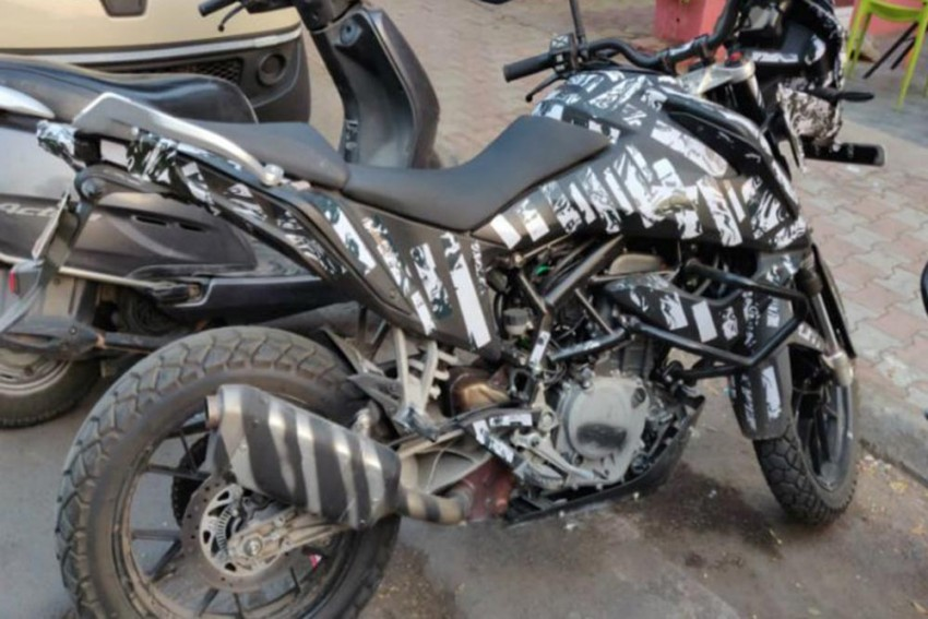 KTM 390 Adventure Spotted Testing In India