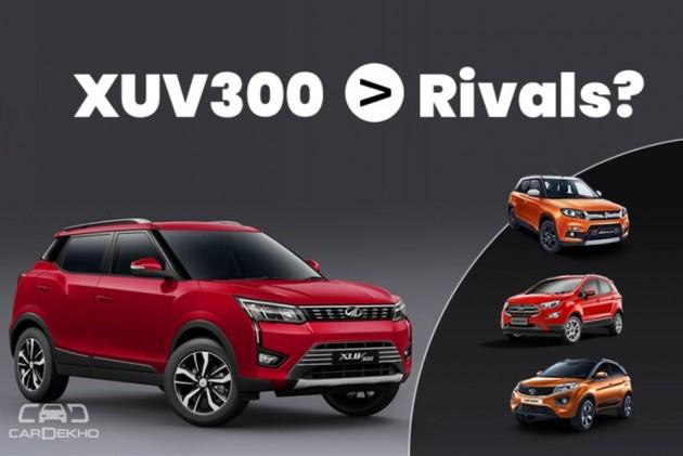 Mahindra XUV300: 5 Things It Offers Over Maruti Brezza, Tata Nexon & Ford EcoSport