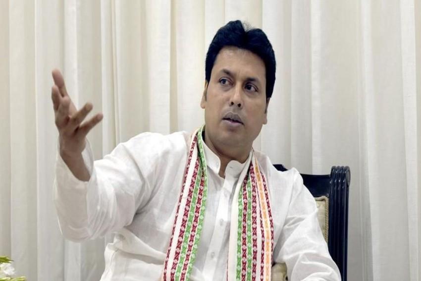 'Communists Trying To Destroy Indian Culture Like Mughals': Tripura CM Biplab Deb