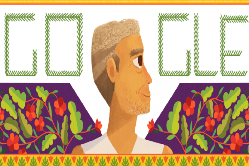 Google Honors Baba Amte With Doddle On 104th Birth Anniversary