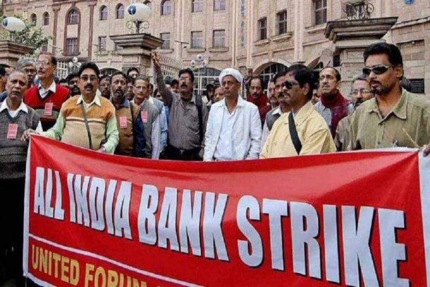 Second Time In A Week, 10 Lakh Bank Employees Go On Nationwide Strike