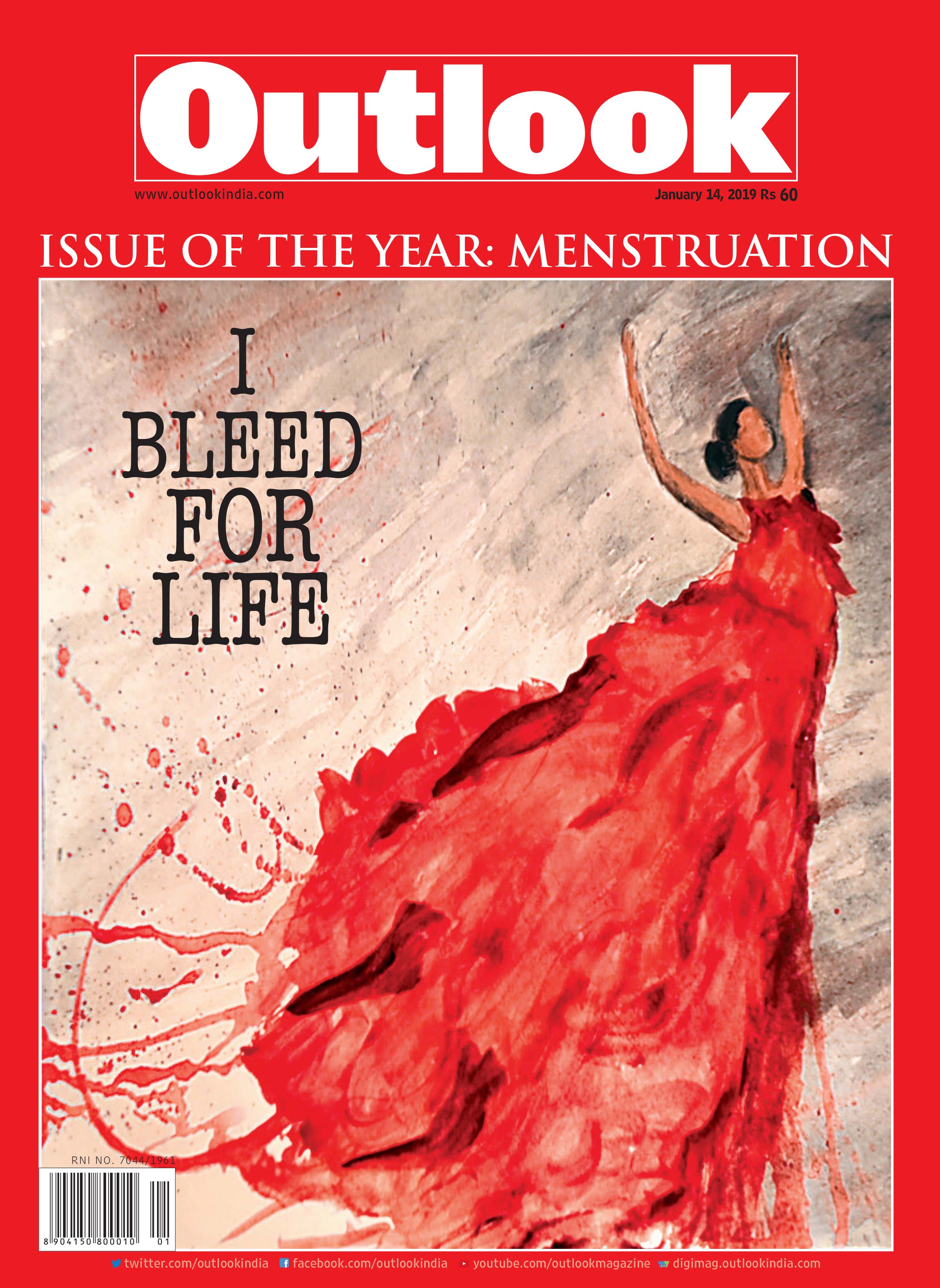 Editor's Essay: Why Menstruation Is Outlook's Issue Of The Year