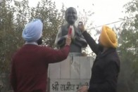 1984 Anti-Sikh Riots: Two Akali Dal Activists Arrested For Vandalising Rajiv Gandhi Statute