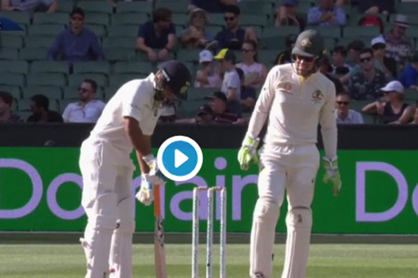 WATCH: Paine Invokes Dhoni In Hilarious Fashion To Provoke Pant At MCG
