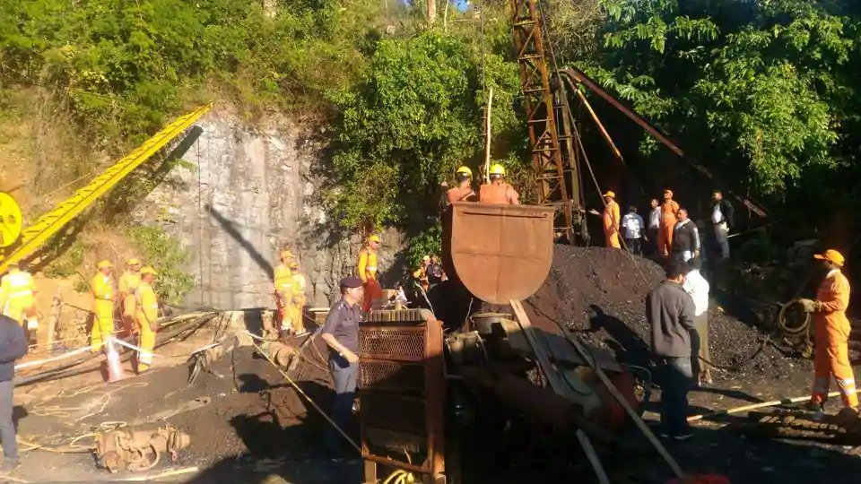 High-Powered Pumps Still Hours Away; Mining Experts, Firefighters, Navy Join Rescue Operation In Meghalaya