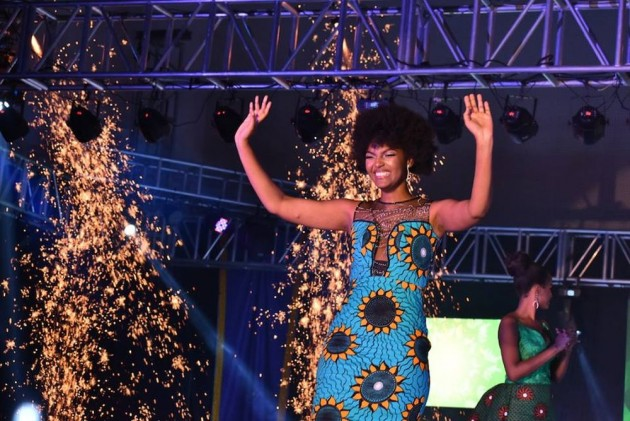 Miss Africa's Hair Catches Fire Minutes After Winning Beauty Pageant Crown