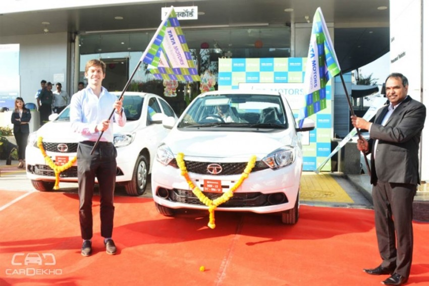 Tata Tigor EV Now Available On Rent In Pune