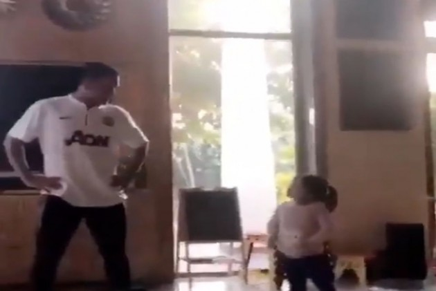 Watch: Daughter Ziva Teaches MS Dhoni Some Cool Dance Moves