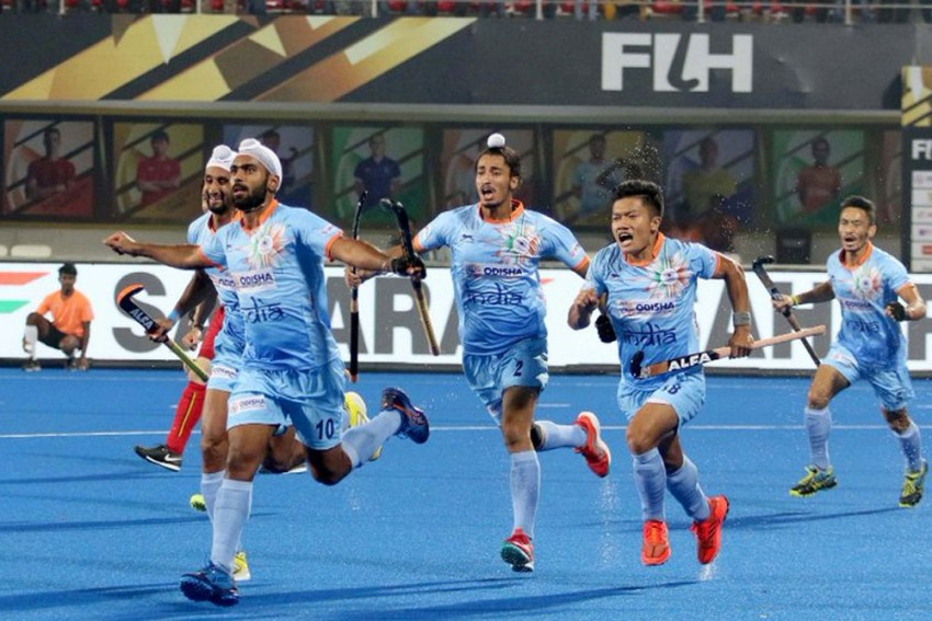 Hockey World Cup: India Coach Harendra Singh Hails Players' Fitness In 2-2 Draw Against Belgium