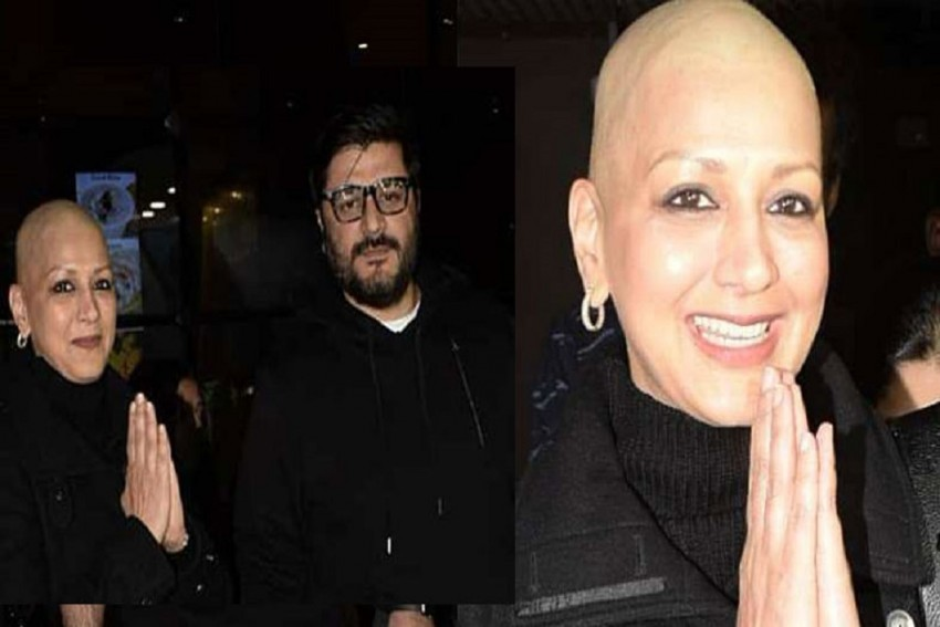 Sonali Bendre Happy To Return To Mumbai After Her Six-Months Long Treatment