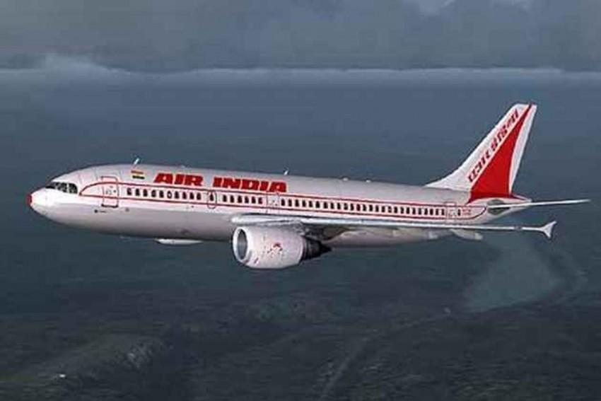 Man Strips Mid-Air On Air India Flight, Held